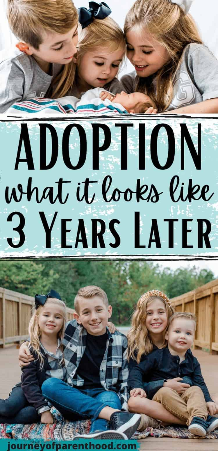 three year adoption update