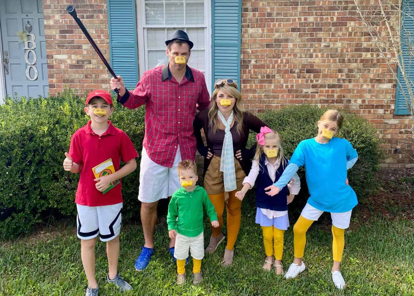 Ducktales Family Halloween Costumes
