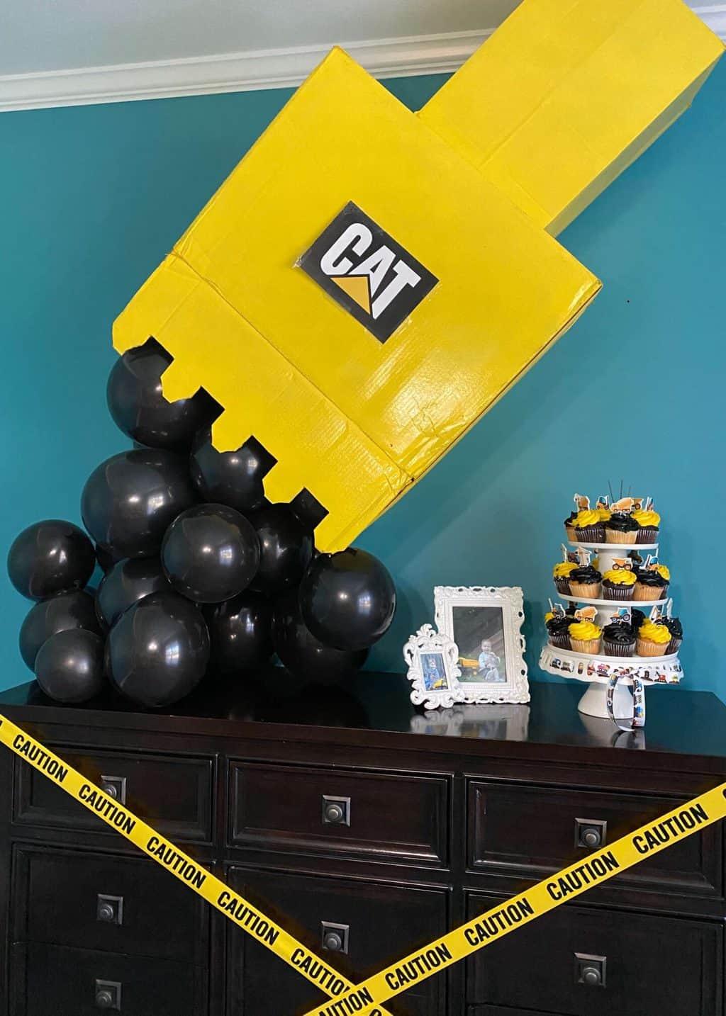 Construction Birthday Party Decor