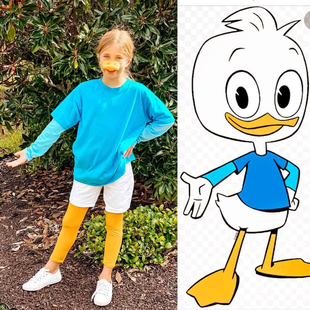 ducktales costumes dewey duck costume