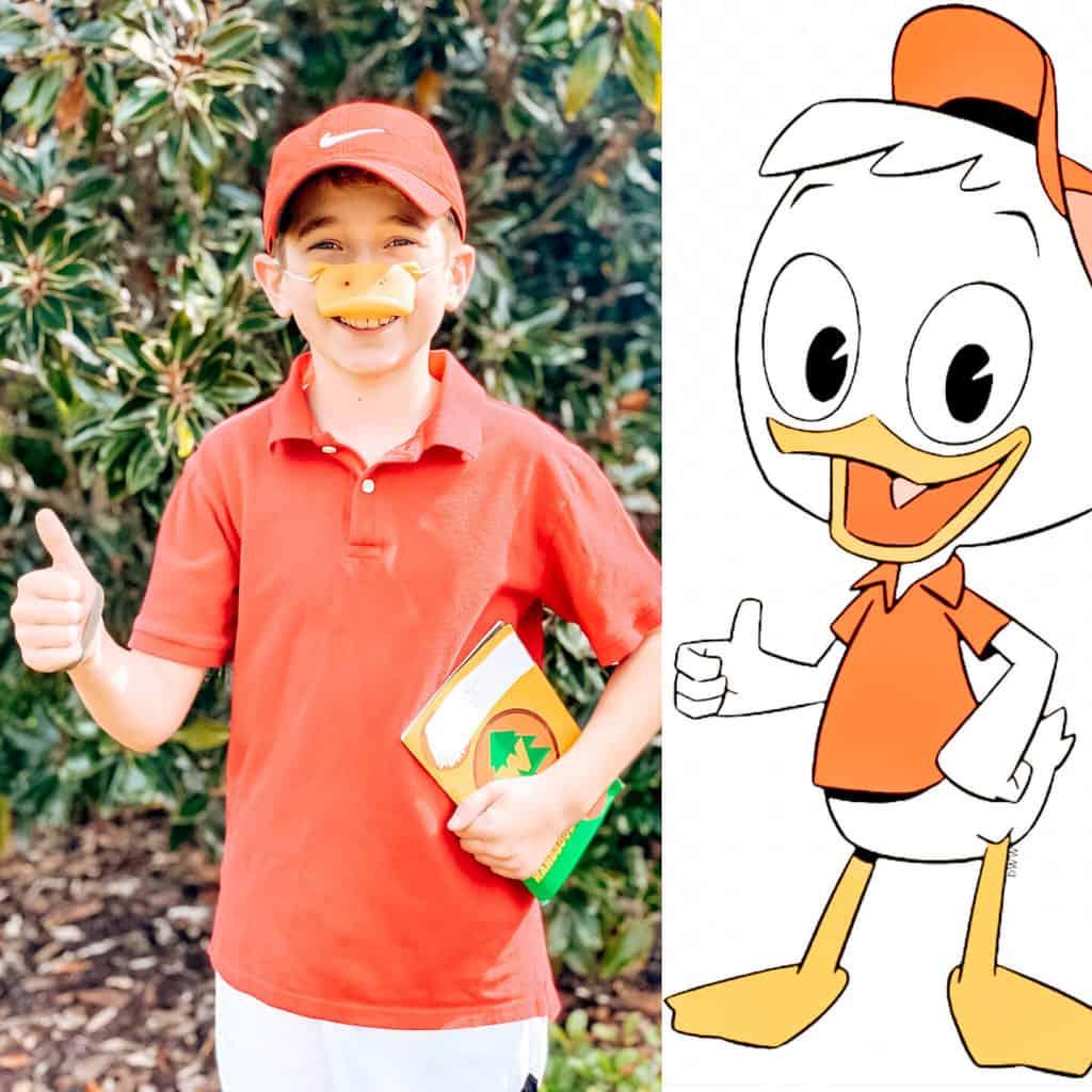 ducktales costumes huey duck costume