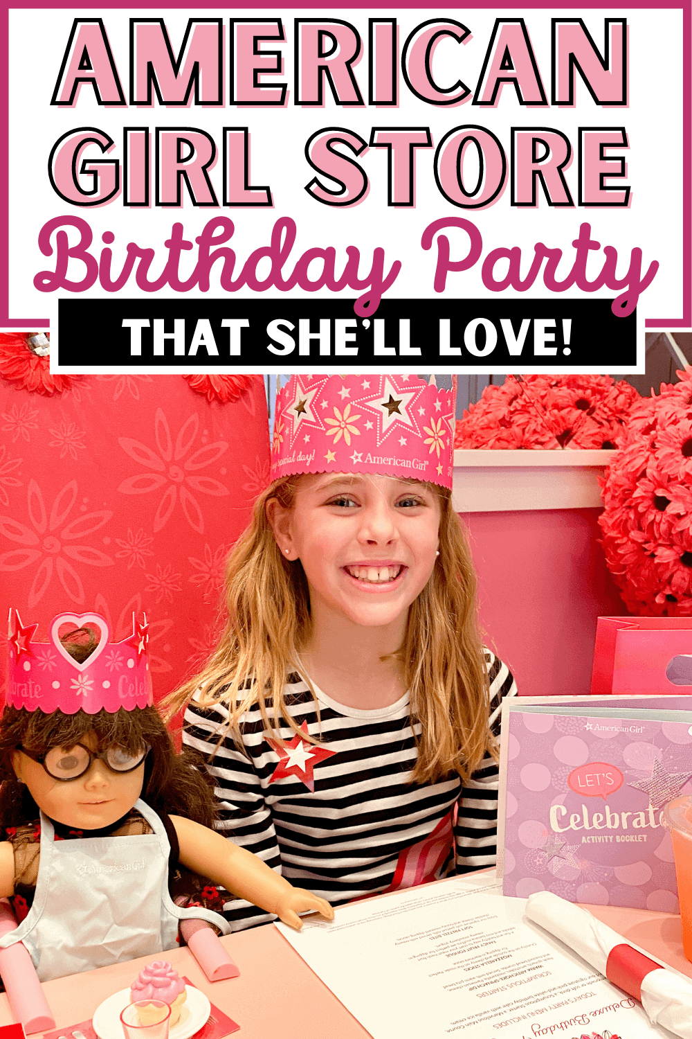 American Girl Store Birthday Party