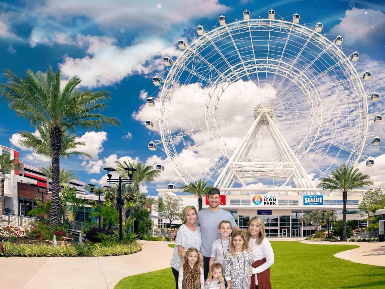 the wheel at Icon Park Orlando
