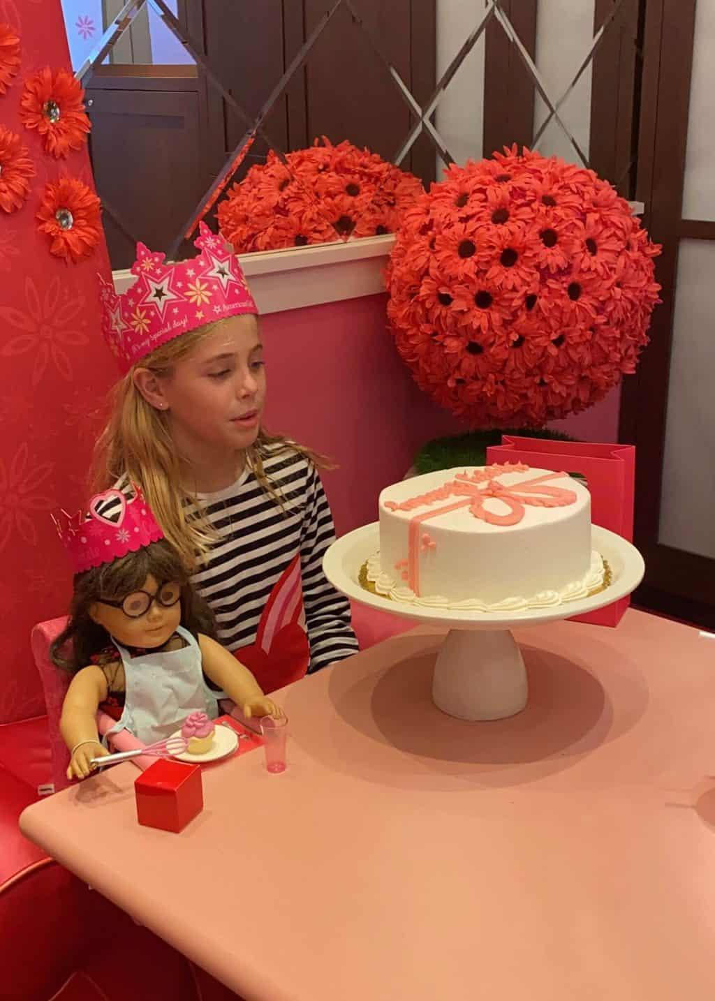 american girl doll birthday party
