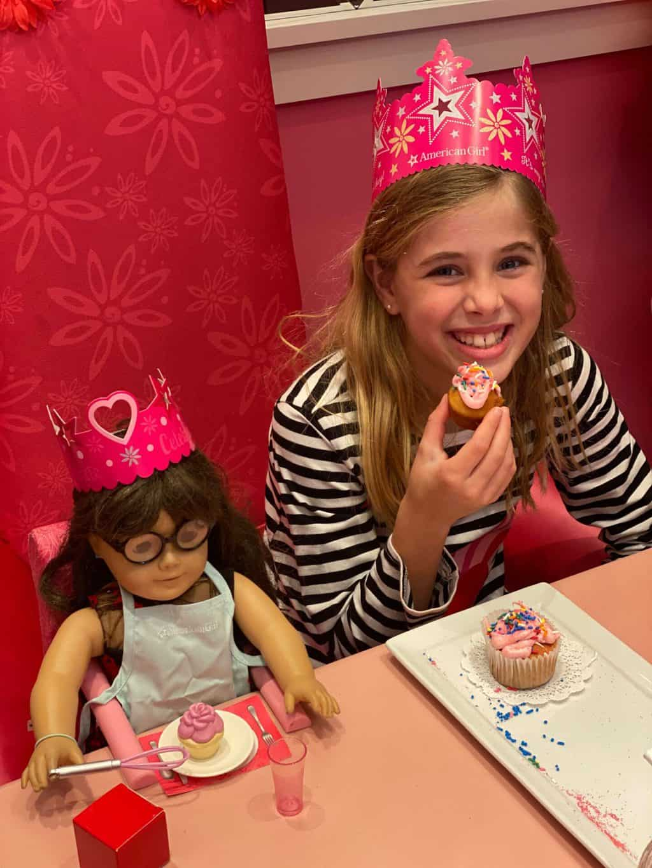 Britt's American Girl Store Birthday Party