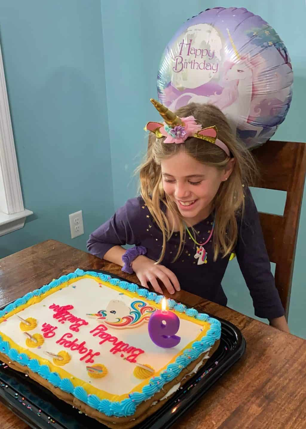 Britt's 9th Birthday