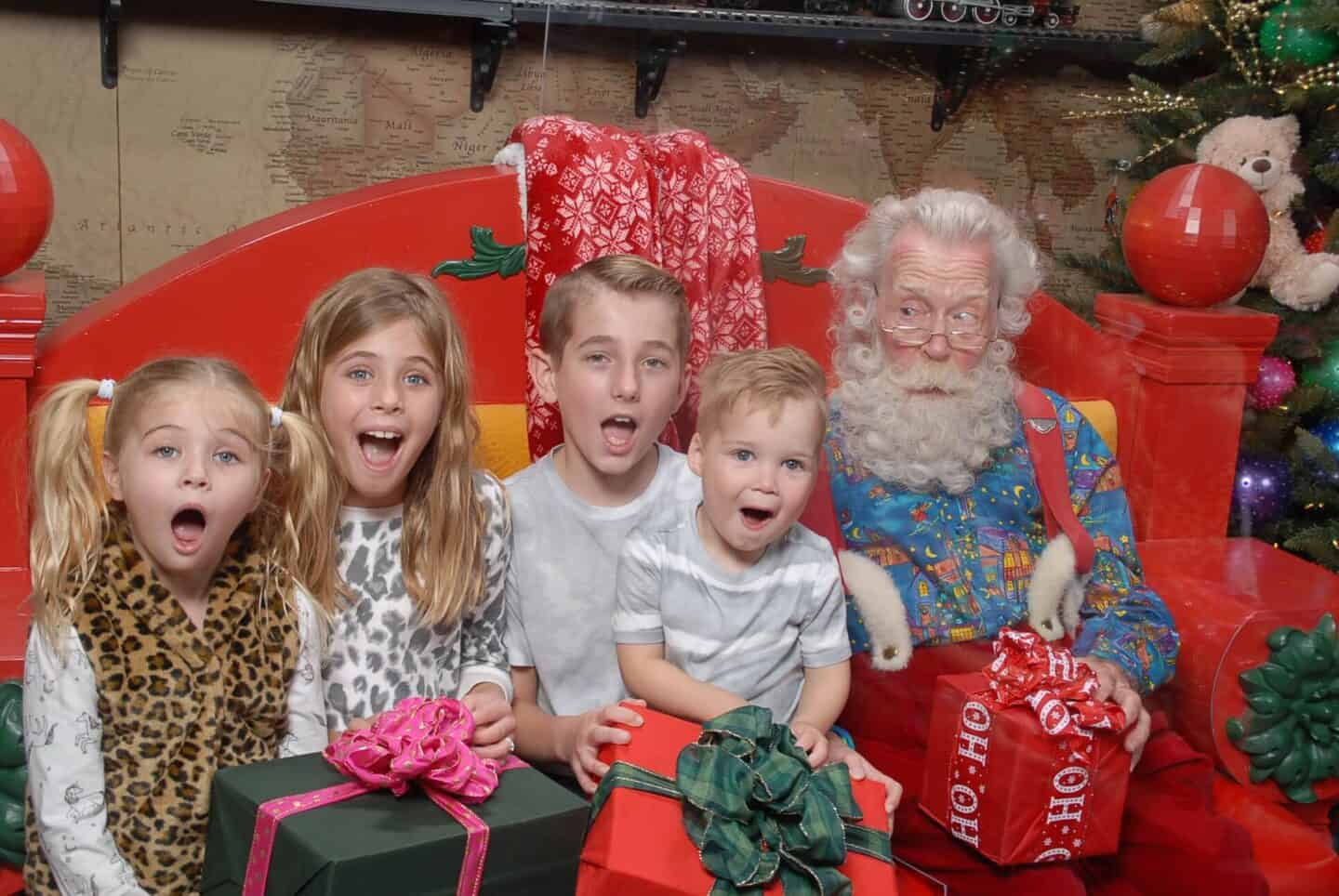 Best Place to Meet Santa for Photos: The Santa Workshop Experience at ICON Park