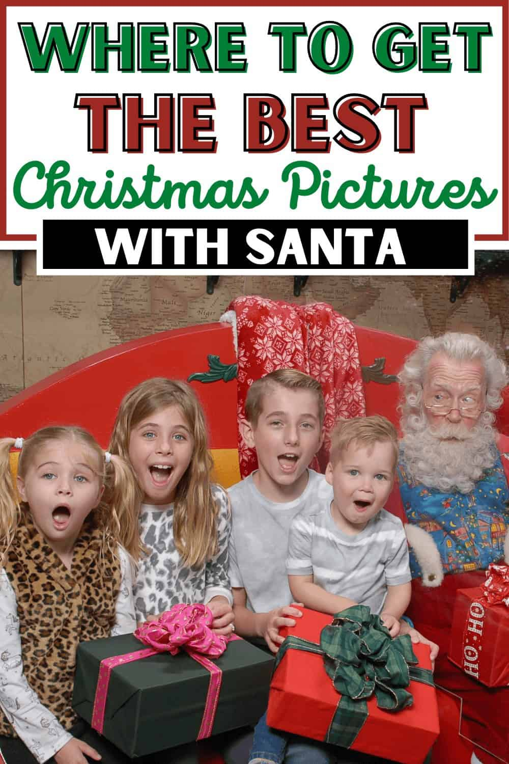 The Best Place to Meet Santa for the Best Santa Photos: Santa Workshop Experience at Icon Park Orlando Florida