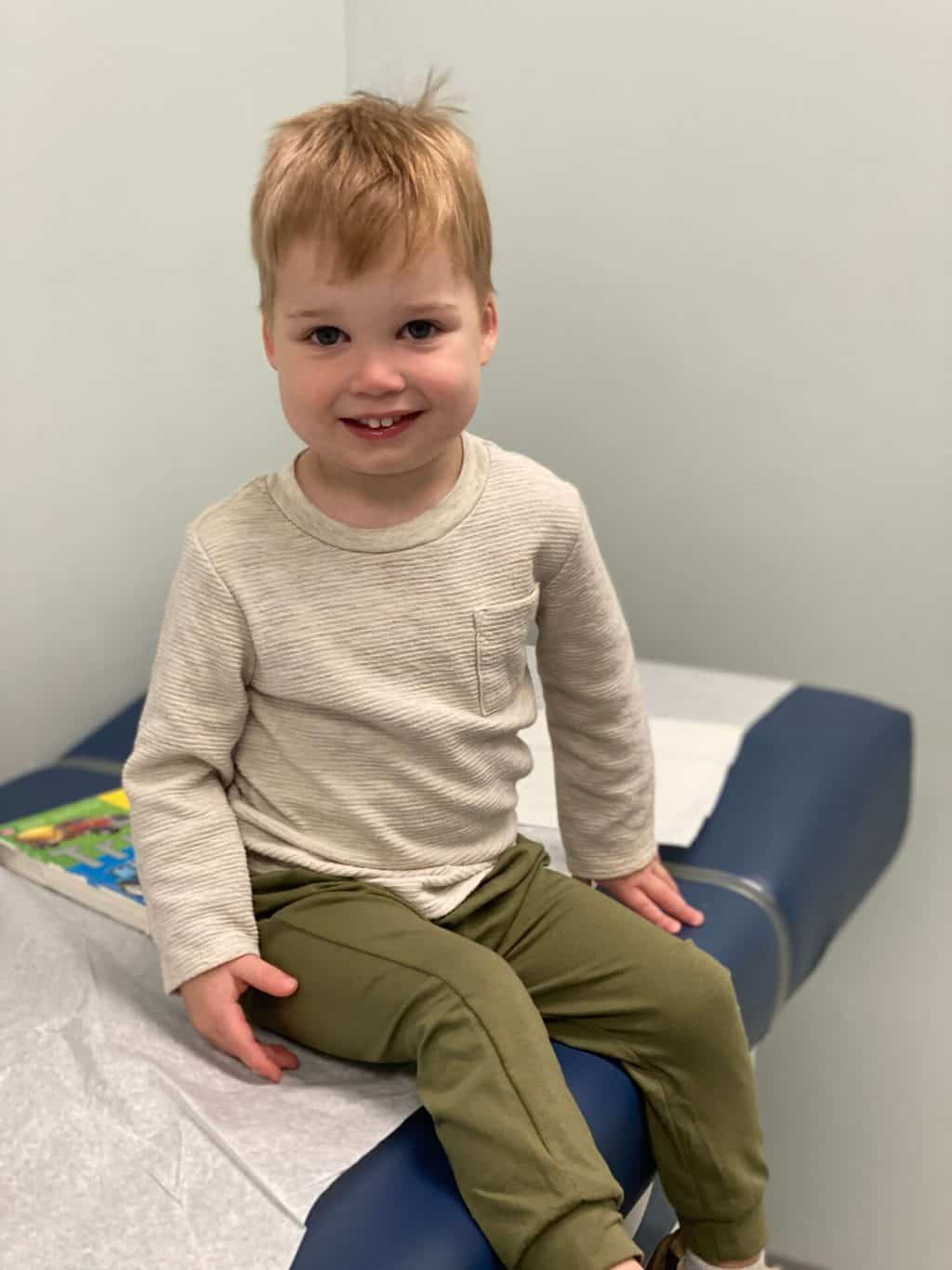 Spear's 3 Year Old Well-Check Pediatrician Visit