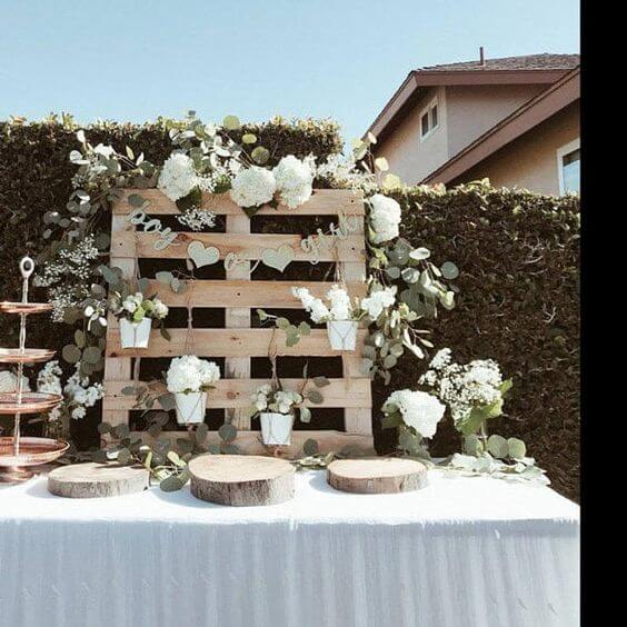 rustic gender neutral baby shower theme