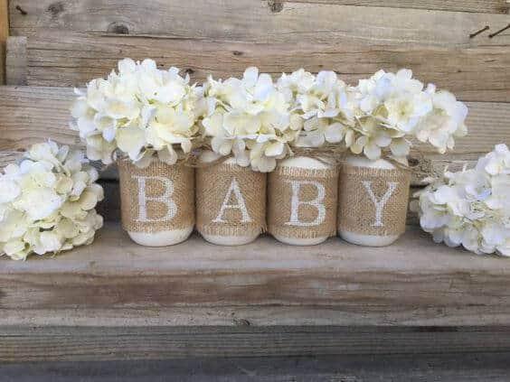 baby mason jars