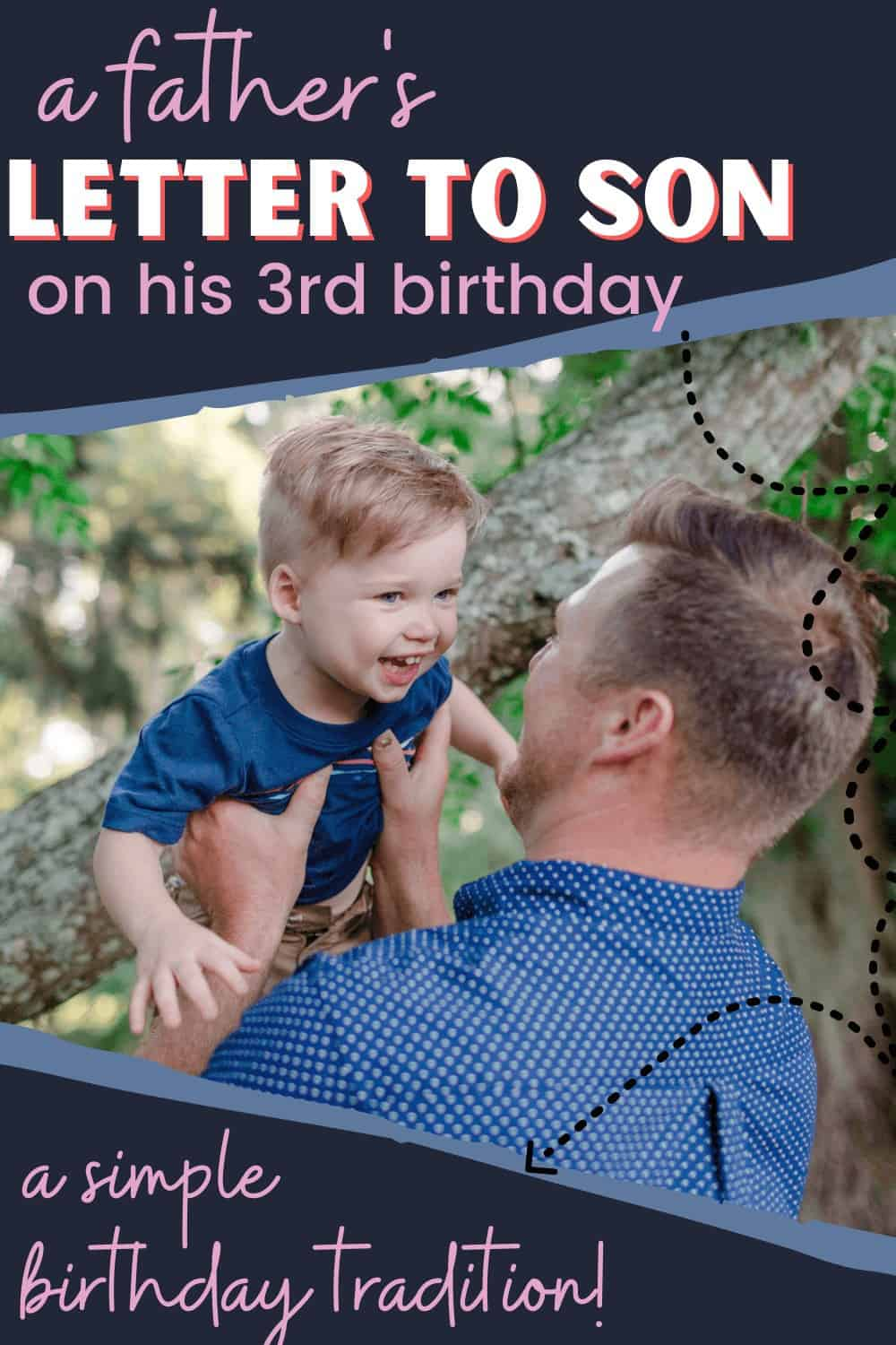 son's 3rd birthday letter from dad