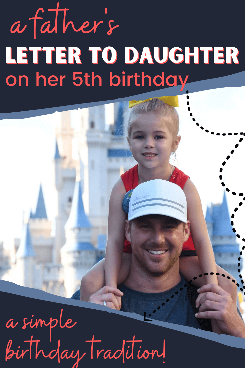 5th birthday letter from dad to daughter
