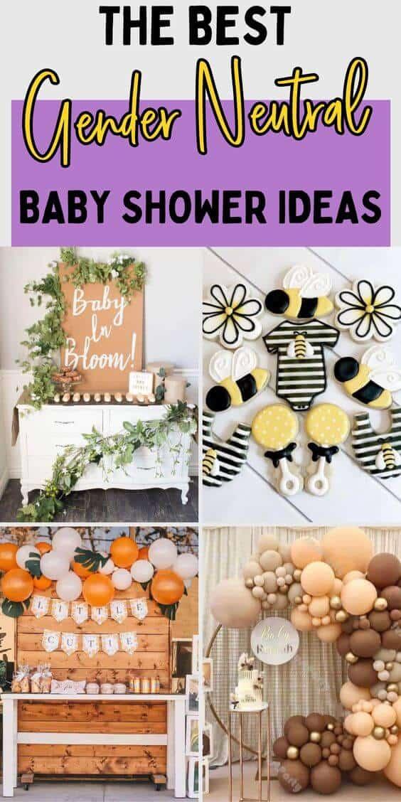 the best gender neutral baby shower ideas