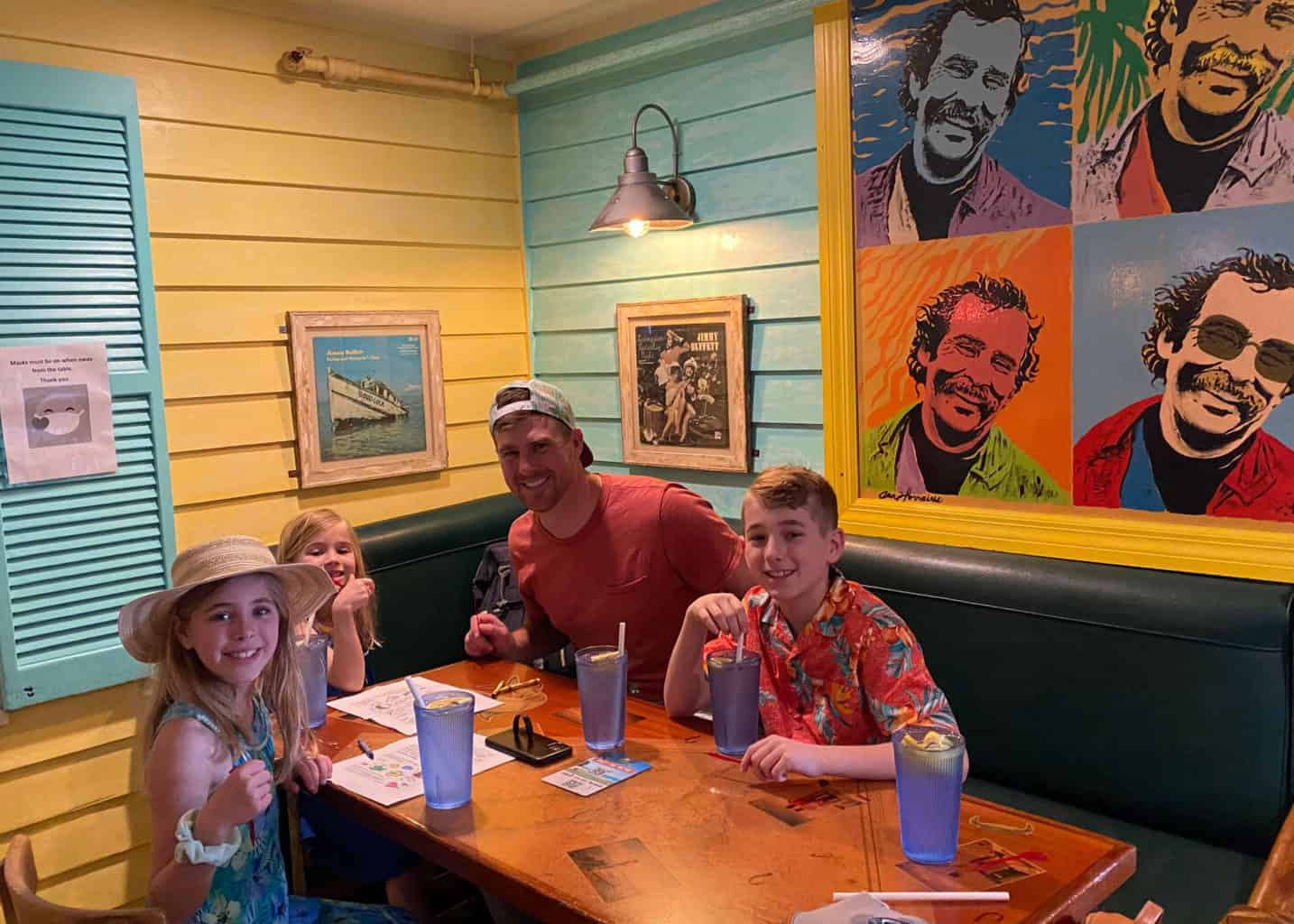 key west dining with kids