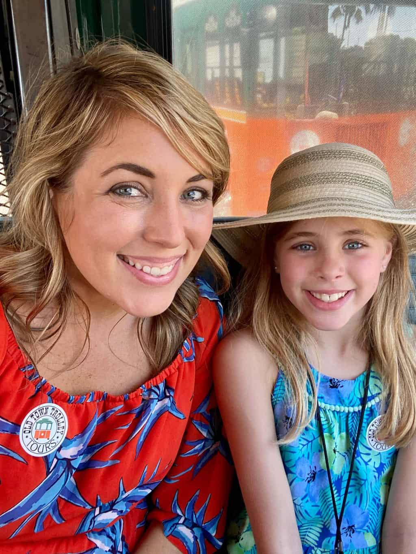 key west trolley tour with kids