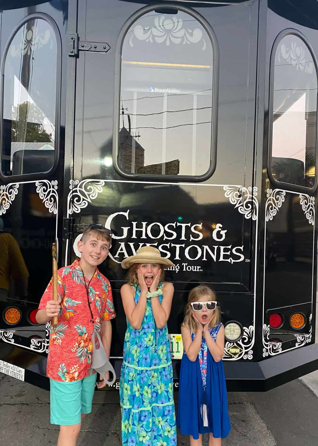ghost tour in key west for kids