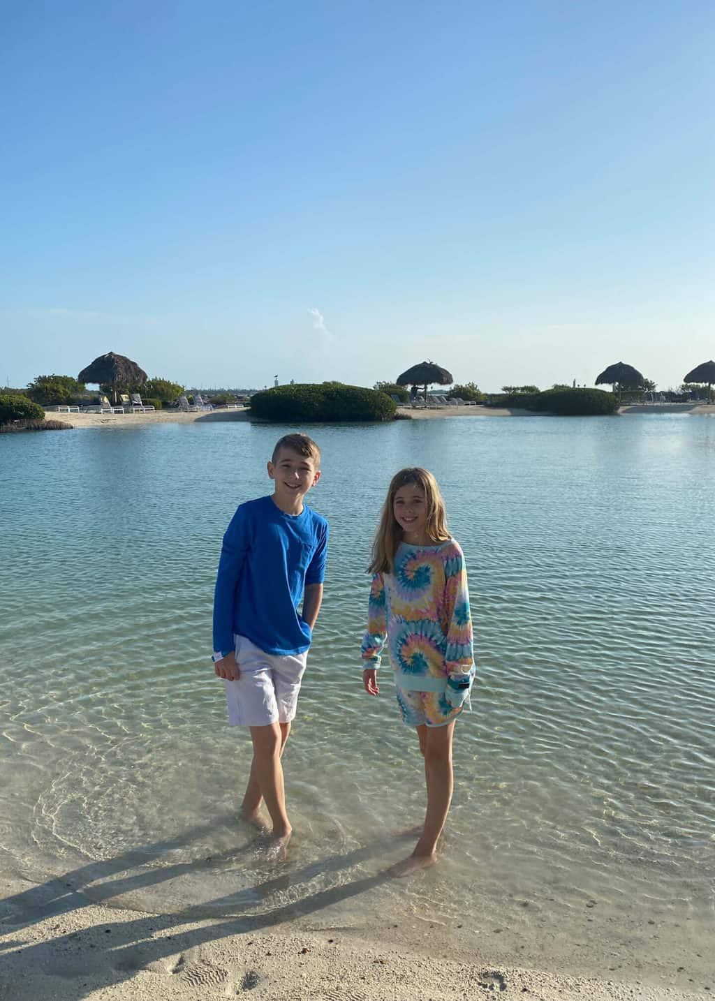 hawks cay lagoon key west with kids