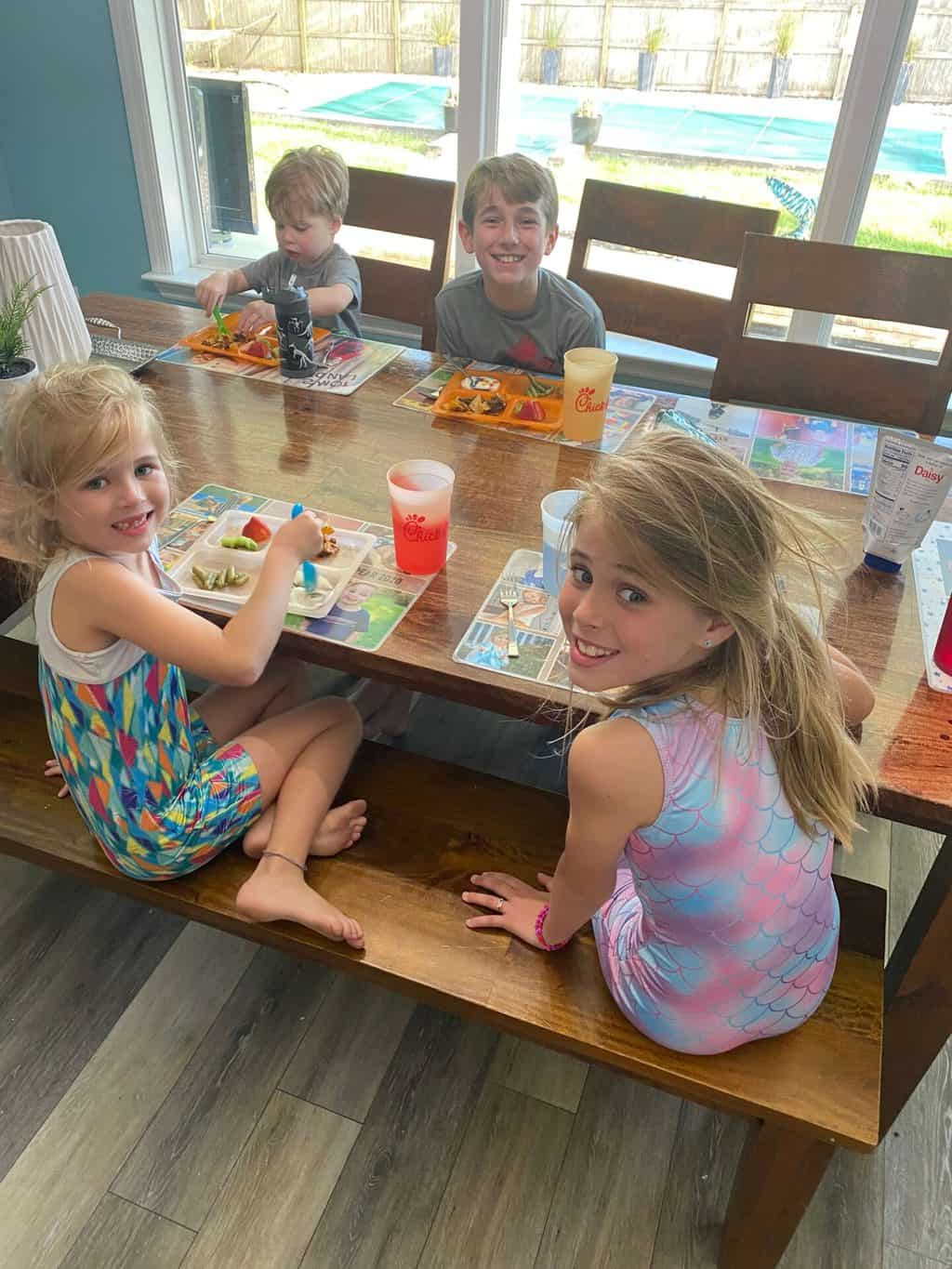 Day in the Life with Four Kids: March 2021