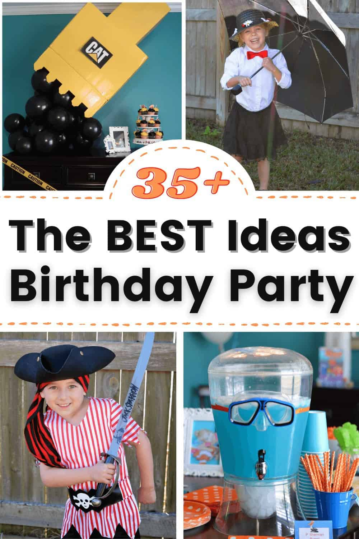 the best kids birthday party ideas