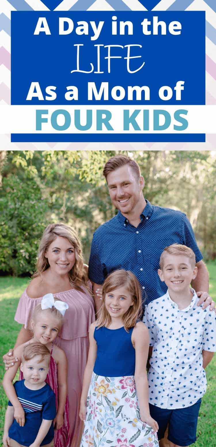 day in the life with four kids