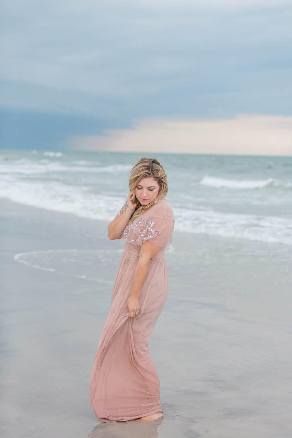 fancy beach dress for family photos