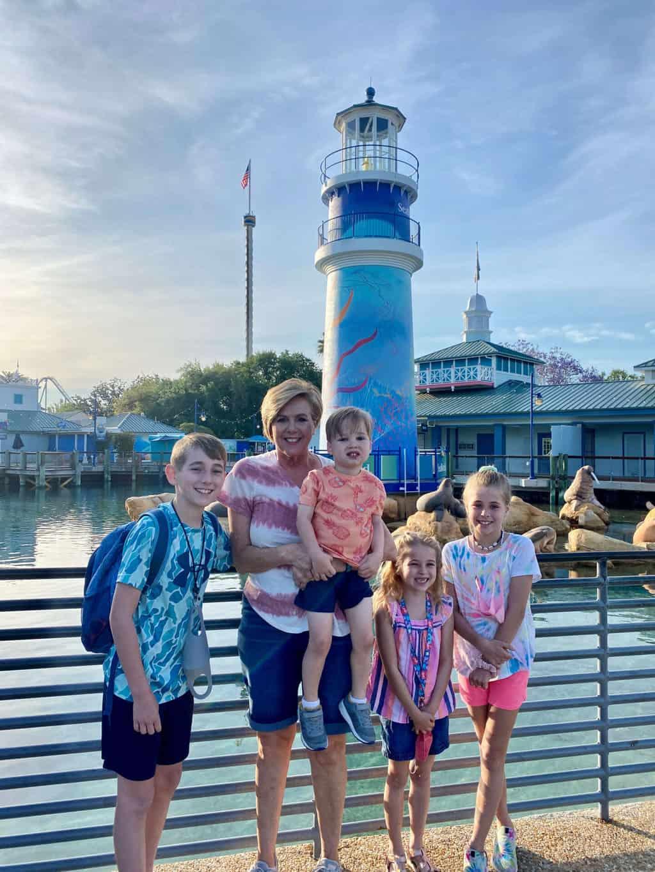 SeaWorld Orlando Visit April 2021