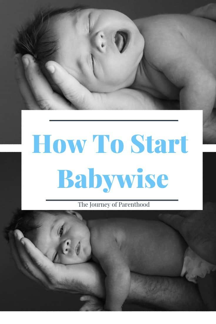 how to start babywise sleep training