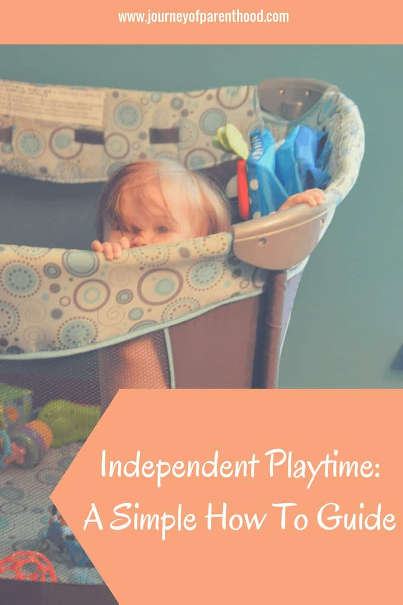 independent playtime - a simple how to guide