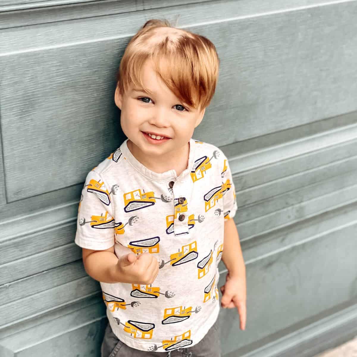 Spear's Epic Hair Saga: When My Toddler Cut His Own Hair