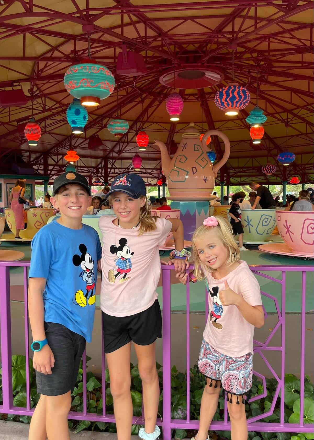 Disney World height requirements for magic kingdom