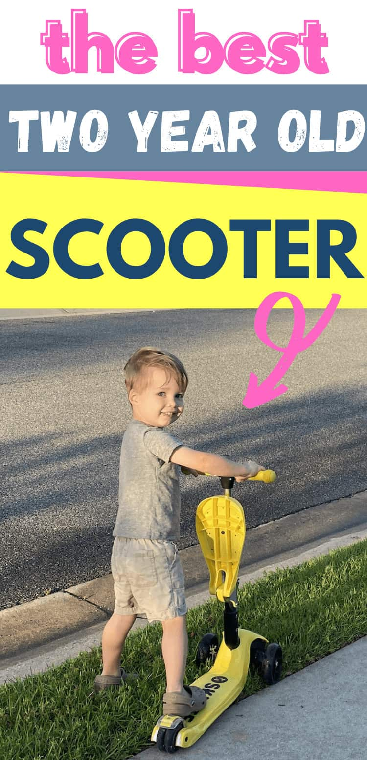 the best scooter for two year olds