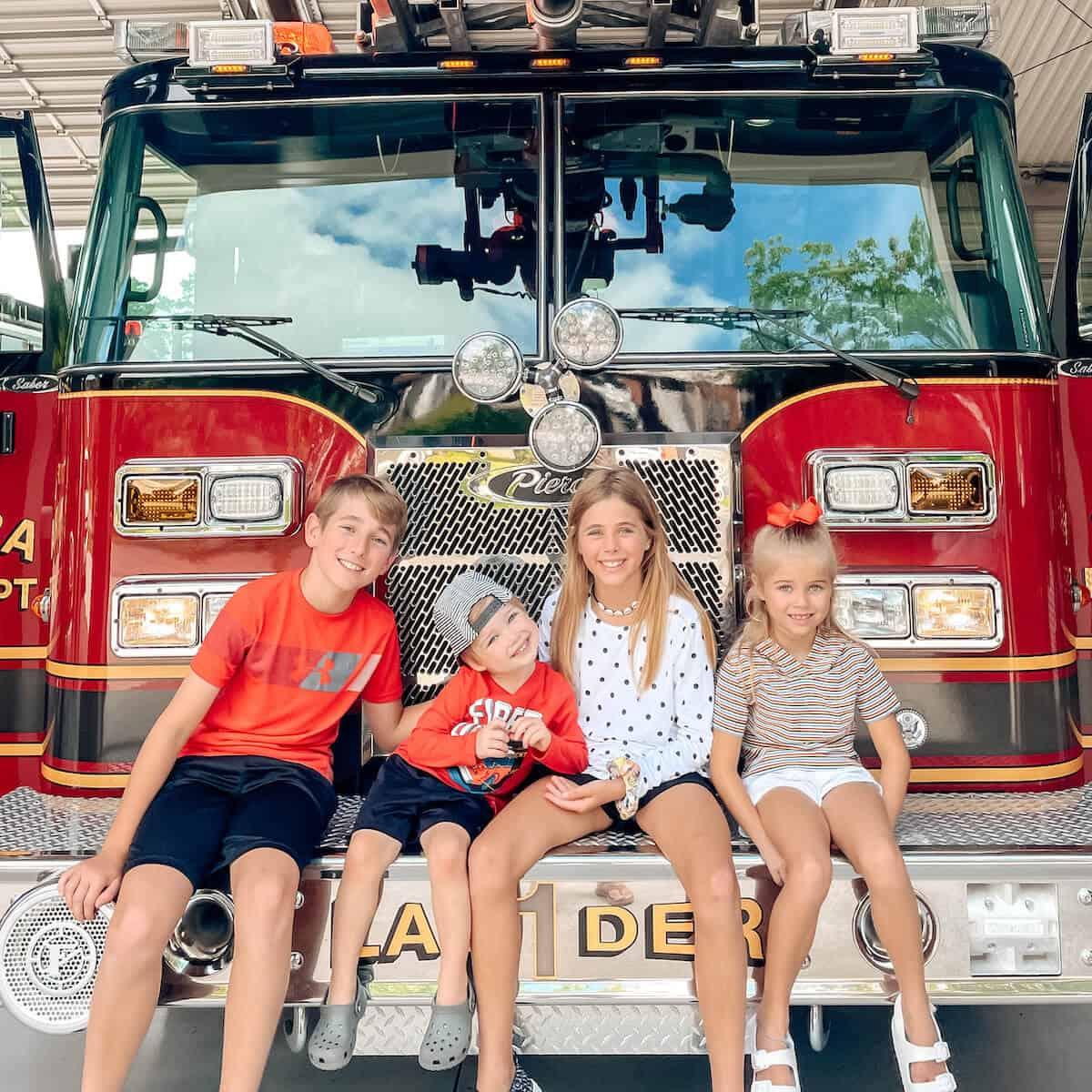 Fire Station Visit 2021